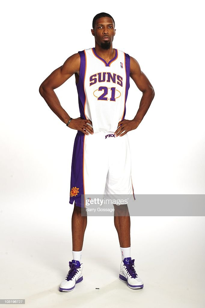 Hakim Warrick of the Phoenix Suns poses for photos during media day on September 27 2010 at US Airways Center in Phoenix Arizona NOTE TO USER User...