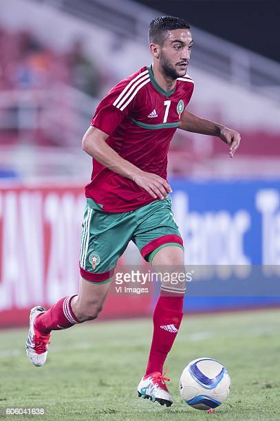 Hakim Ziyech of Morocco during the Africa Cup of Nations match between Morocco and Sao Tome E Principe at September 4 2016 at the Complexe Sportif...