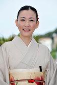 Hako Oshima at the photo call for 'Hanezu No Tsuki' during the 64th Cannes International Film Festival