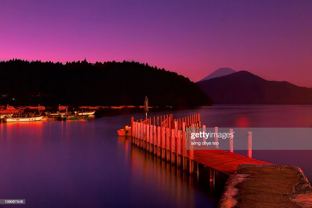 Hakone Lake Ashi Japan