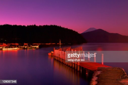 Hakone Lake Ashi Japan