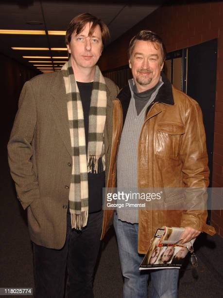Hal Hartley and Geoffrey Gilmore director of Sundance Film Festival