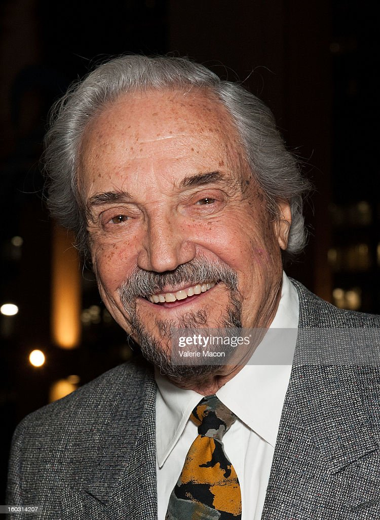<a gi-track='captionPersonalityLinkClicked' href=/galleries/search?phrase=Hal+Linden&family=editorial&specificpeople=892046 ng-click='$event.stopPropagation()'>Hal Linden</a> arrives at 'Enter Laughing, The Musical' Carl Reiner's One-Night Only Tribute Celebrating His 75th Anniversary In Show Business at Mark Taper Forum on January 28, 2013 in Los Angeles, California.