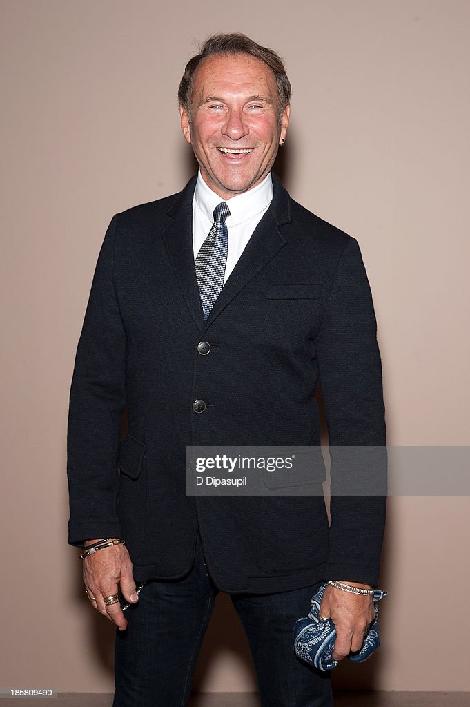 Hal Rubenstein attends Armani - One Night Only New York at SuperPier on October 24, 2013 in New York City.