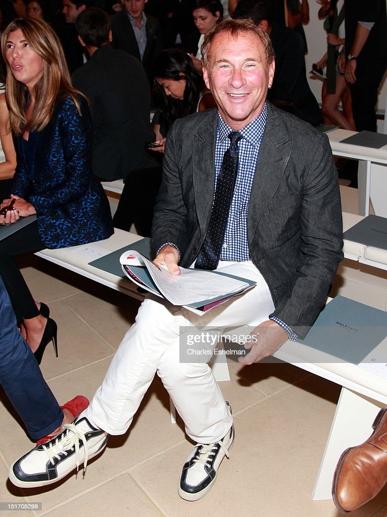 <a gi-track='captionPersonalityLinkClicked' href=/galleries/search?phrase=Hal+Rubenstein&family=editorial&specificpeople=216520 ng-click='$event.stopPropagation()'>Hal Rubenstein</a> attends Belstaff Spring 2013 at the IAC Headquarters on September 10, 2012 in New York City.