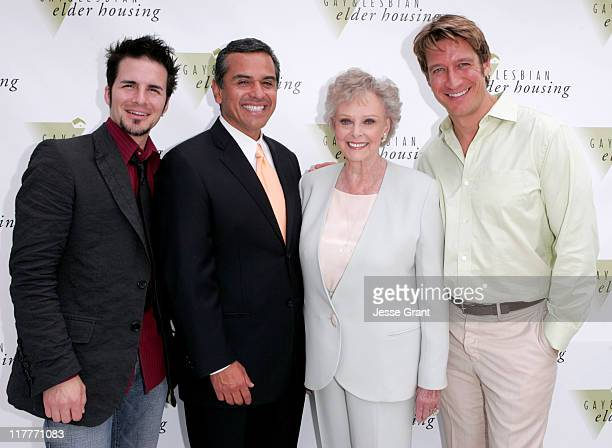Hal Sparks Antonio Villaraigosa June Lockhart and Robert Gant