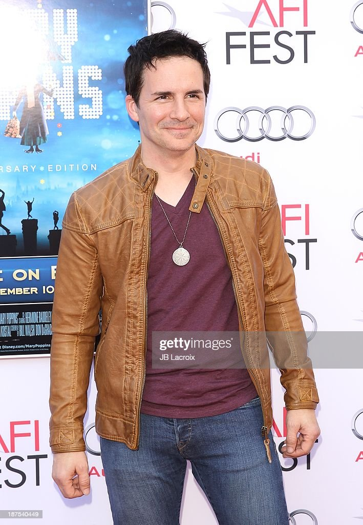 <a gi-track='captionPersonalityLinkClicked' href=/galleries/search?phrase=Hal+Sparks&family=editorial&specificpeople=213158 ng-click='$event.stopPropagation()'>Hal Sparks</a> attends the AFI FEST 2013 Presented By Audi - 'Mary Poppins' 50th Anniversary Edition held at TCL Chinese Theatre on November 9, 2013 in Hollywood, California.
