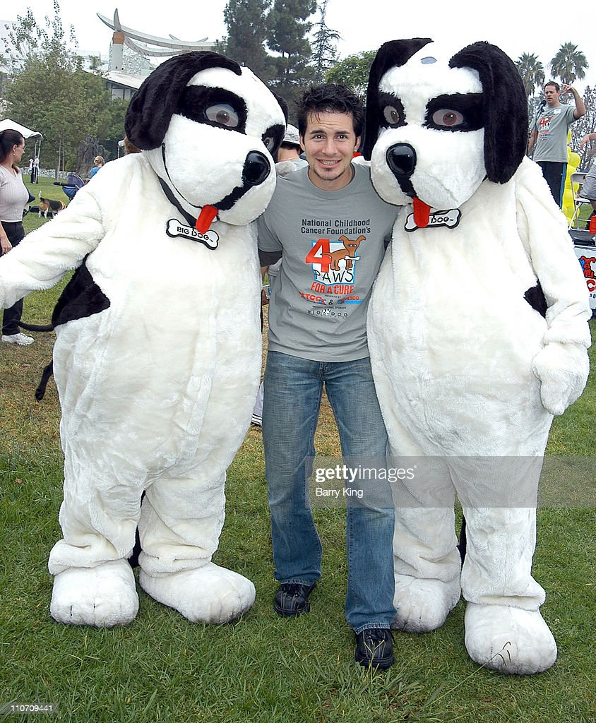 Hal Sparks during 4 Paws For A Cure Dogwalk to Fun National Childhood Cancer Foundation at La Brea Tar Pits in Los Angeles, California, United States.