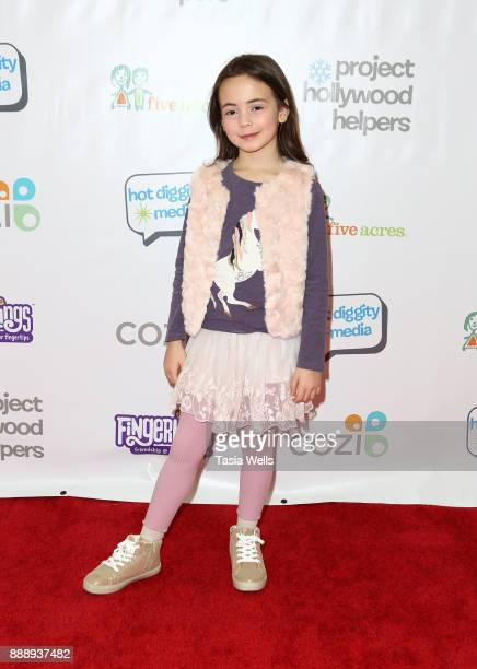 Hala Finley at Project Hollywood Helpers at Skirball Cultural Center on December 9 2017 in Los Angeles California