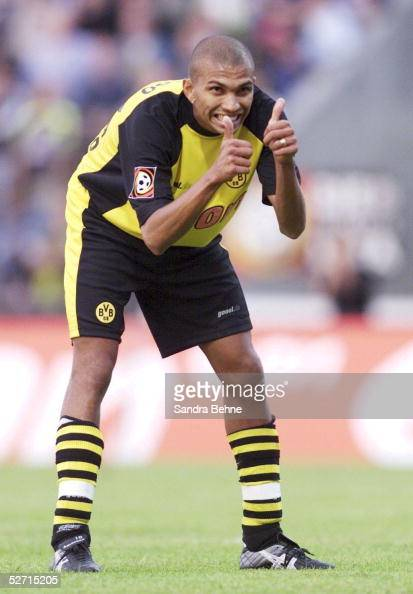 ligapokal 2001 halbfinale luedenscheid borussia dortmund fc schalke 04 1 2 marcio amoroso. Black Bedroom Furniture Sets. Home Design Ideas