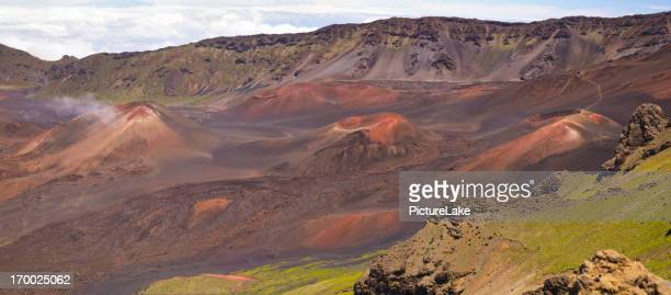 Haleakala Crater panorama, Maui, Hawaii