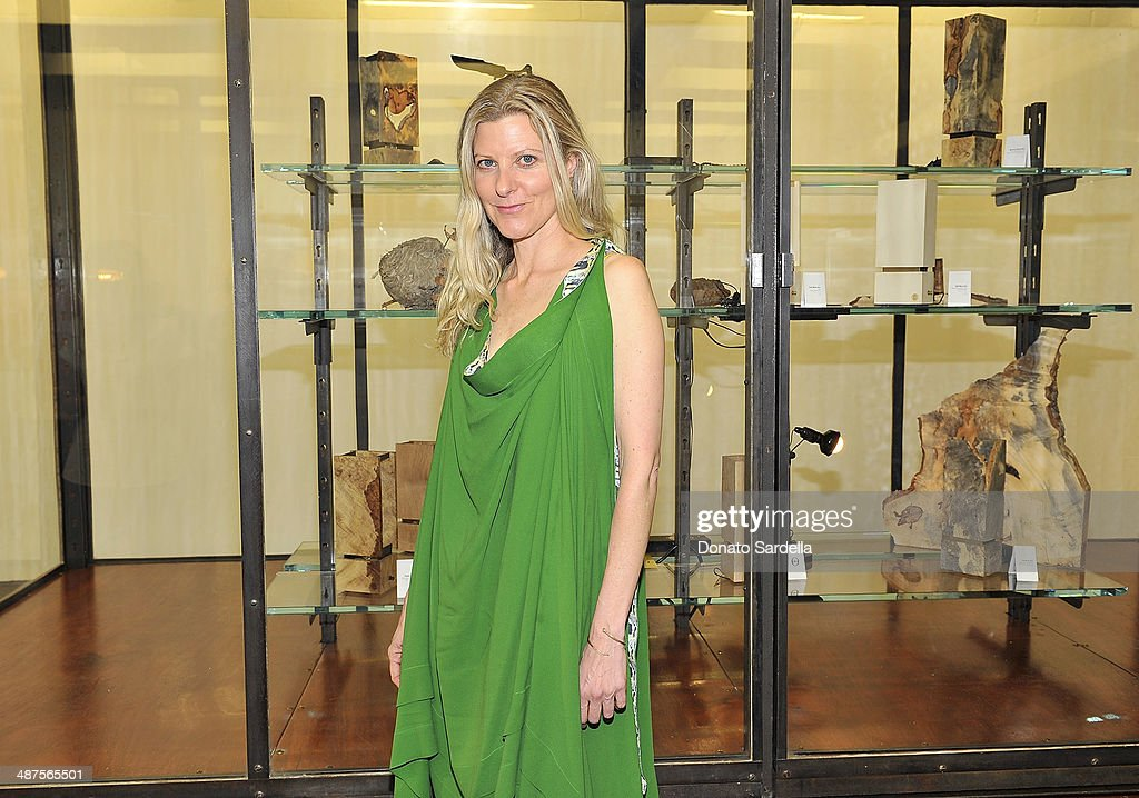 Haley Alexander van Oosten of L'Oeil du Vert attends L'Oeil du Vert opening reception at Maxfield Gallery on April 30, 2014 in Los Angeles, California.