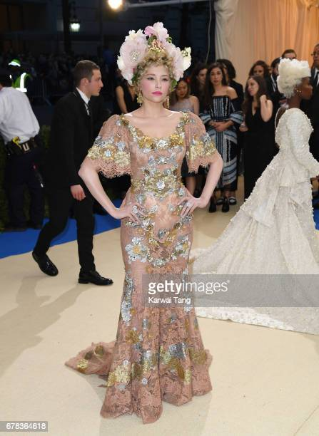 Haley Bennett attends the 'Rei Kawakubo/Comme des Garcons Art Of The InBetween' Costume Institute Gala at the Metropolitan Museum of Art on May 1...