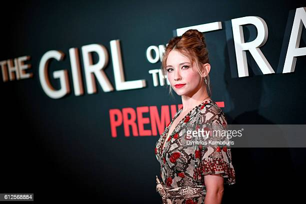 Haley Bennett attends the 'The Girl On The Train' New York Premiere at Regal EWalk Stadium 13 on October 4 2016 in New York City