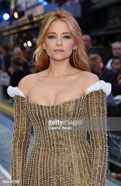 Haley Bennett attends the World Premiere of 'The Girl On The Train' at Odeon Leicester Square on September 20 2016 in London England