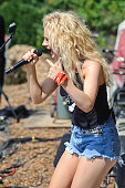 Haley Georgia performs on Day 2 of Country Thunder Wisconsin on July 22 2016 in Twin Lakes Wisconsin