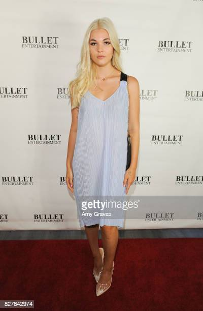Haley Hudson attends Wendy Benge's Launch of Film Studio Bullet Studios on August 5 2017 in Los Angeles California