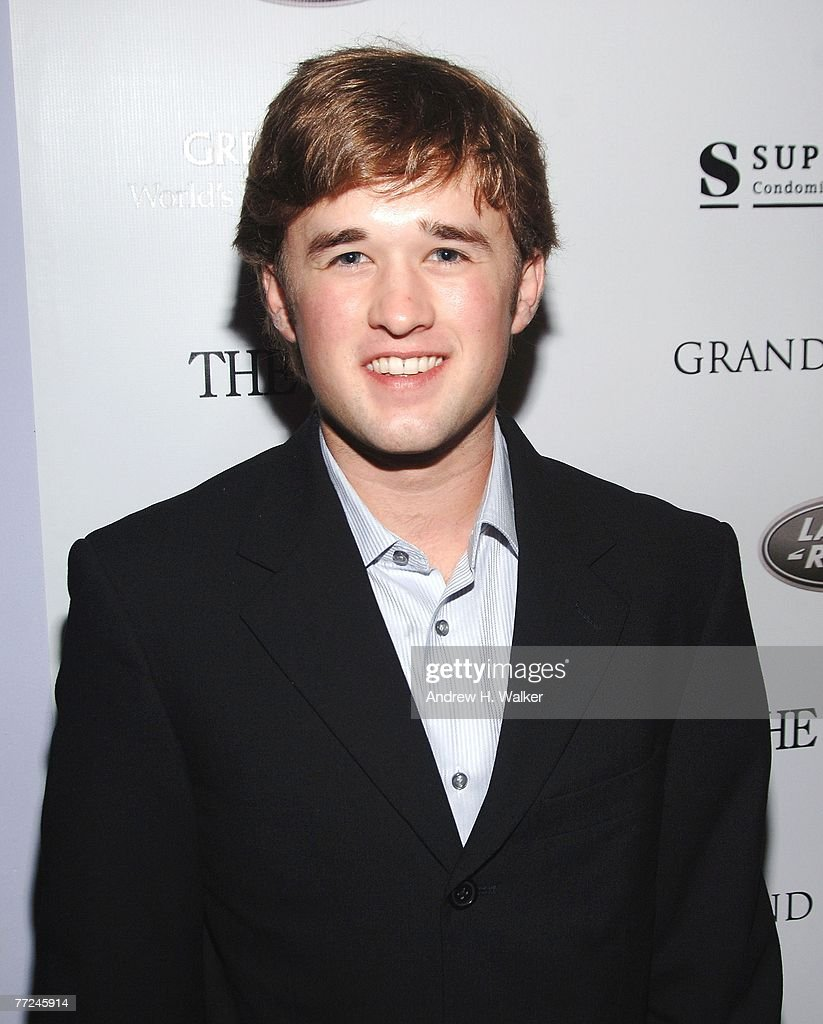 Haley Joel Osment attends a Grand Classics screening hosted by Willem Dafoe on October 9 2007 in New York City
