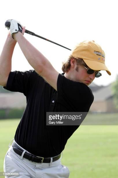 Haley Joel Osment during Dennis Quaid Charity Golf June 9 2007 at Onion Creek Club in Austin Texas United States