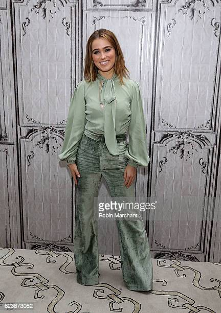 Haley Lu Richardson attends The Build Series presents 'The Edge Of Seventeen' at AOL HQ on November 17 2016 in New York City