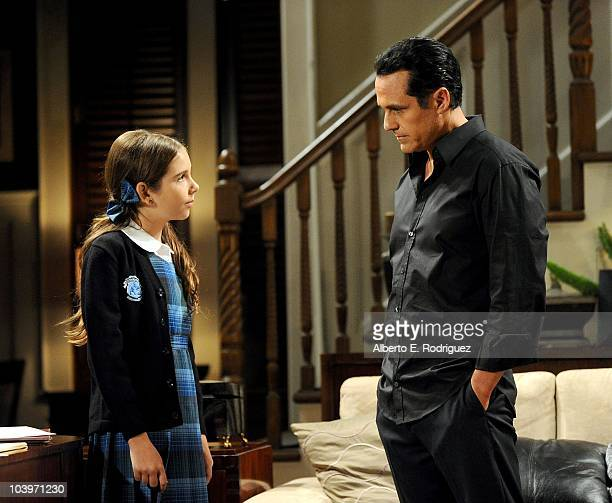 Haley Pullos and Maurice Benard in a scene that airs the week of September 27th on ABC�s GENERAL HOSPITAL