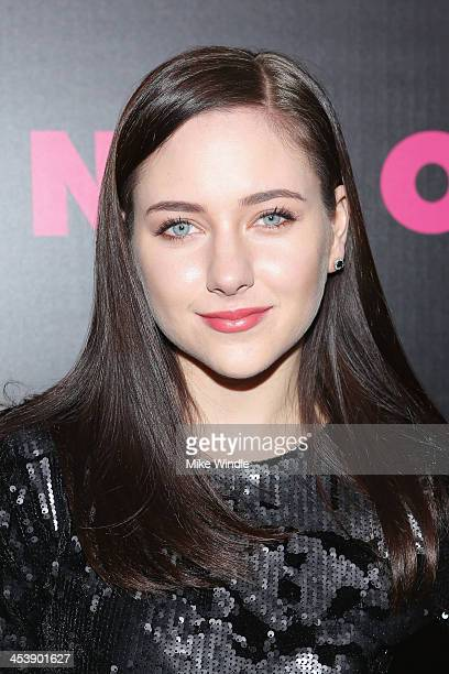 Haley Ramm attends NYLON McDonald's Dec/Jan issue launch party hosted by cover star Demi Lovato on December 5 2013 in West Hollywood California