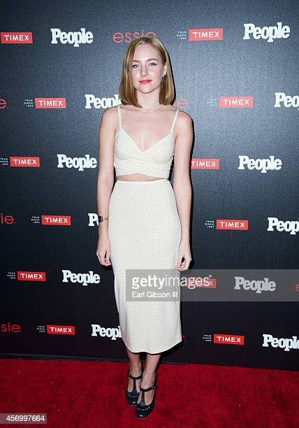 Haley Ramm attends People Magazine 'Ones To Watch' Party at The Line on October 9 2014 in Los Angeles California