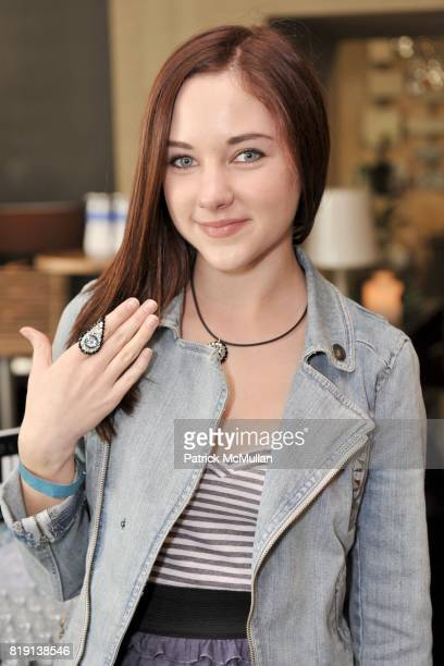 Haley Ramm attends Silver Spoon Presents Oscar Weekend Red Cross Event For Haiti Relief at Interior Illusions on March 3 2010 in West Hollywood...