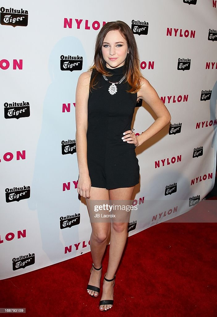Haley Ramn attends the NYLON Magazine Annual May Young Hollywood Issue Party at The Roosevelt Hotel on May 14, 2013 in Hollywood, California.