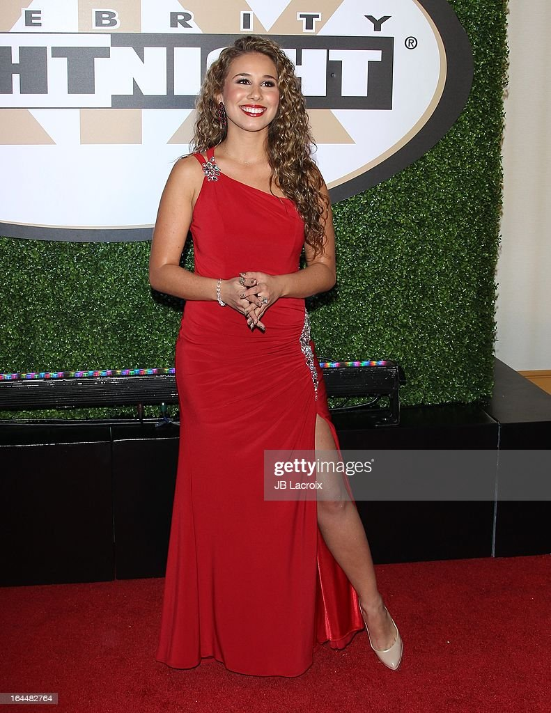 Haley Reinhart attends the Muhammad Ali's Celebrity Fight Night XIX held at JW Marriott Desert Ridge Resort & Spa on March 23, 2013 in Phoenix, Arizona.
