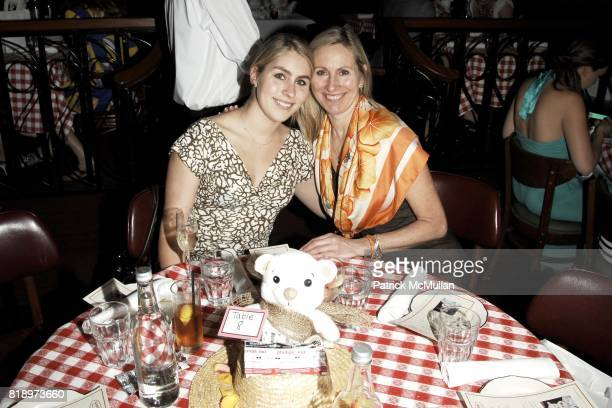 Haley Strader and Sarah Michels attend Sharon Lauren Ashley Bush Host Luncheon in Celebration of the FEED Bears Sponsored by DIOR BEAUTY llanllyr...