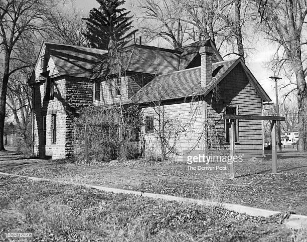 MAR 21 1954 Half a century ago Colorado A M college purchased its agronomy from at the edge of Fort Collins Here is the old stone house on the place...