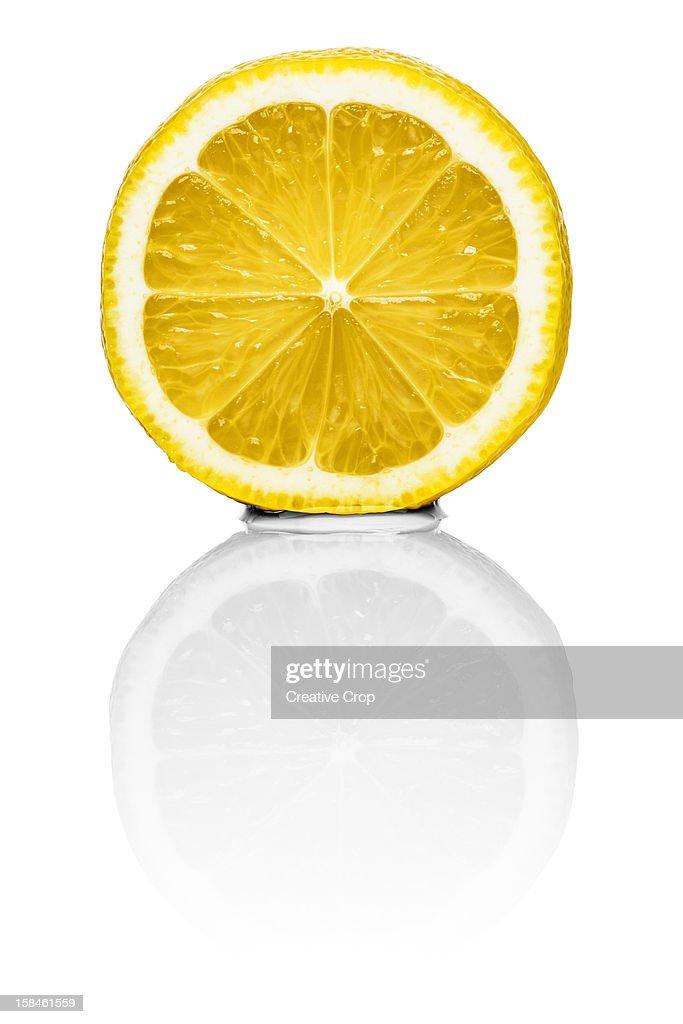 Half a lemon : Stock Photo