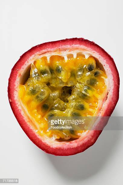 Half a purple granadilla (passion fruit)