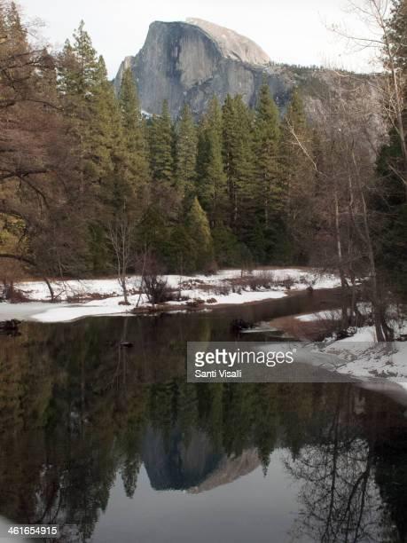 Half Dome on December 27 2013 in Yosemite California