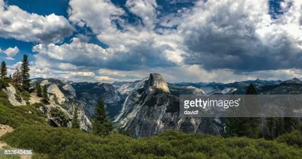 Half Dome Panorama in Yosemite National Park
