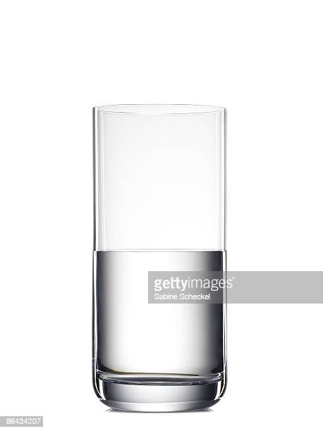 half full glass of water or half empty