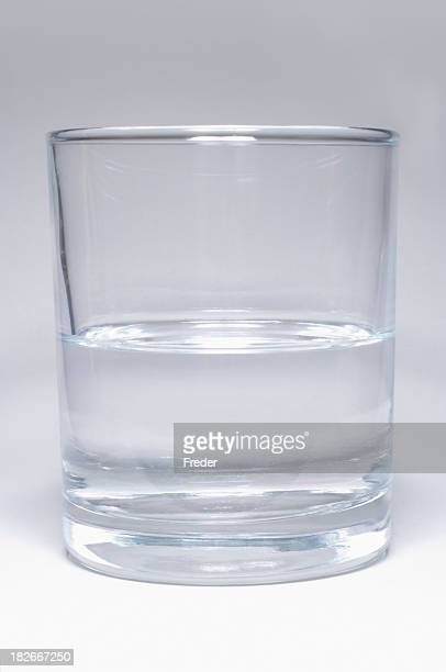 half full or empty glass