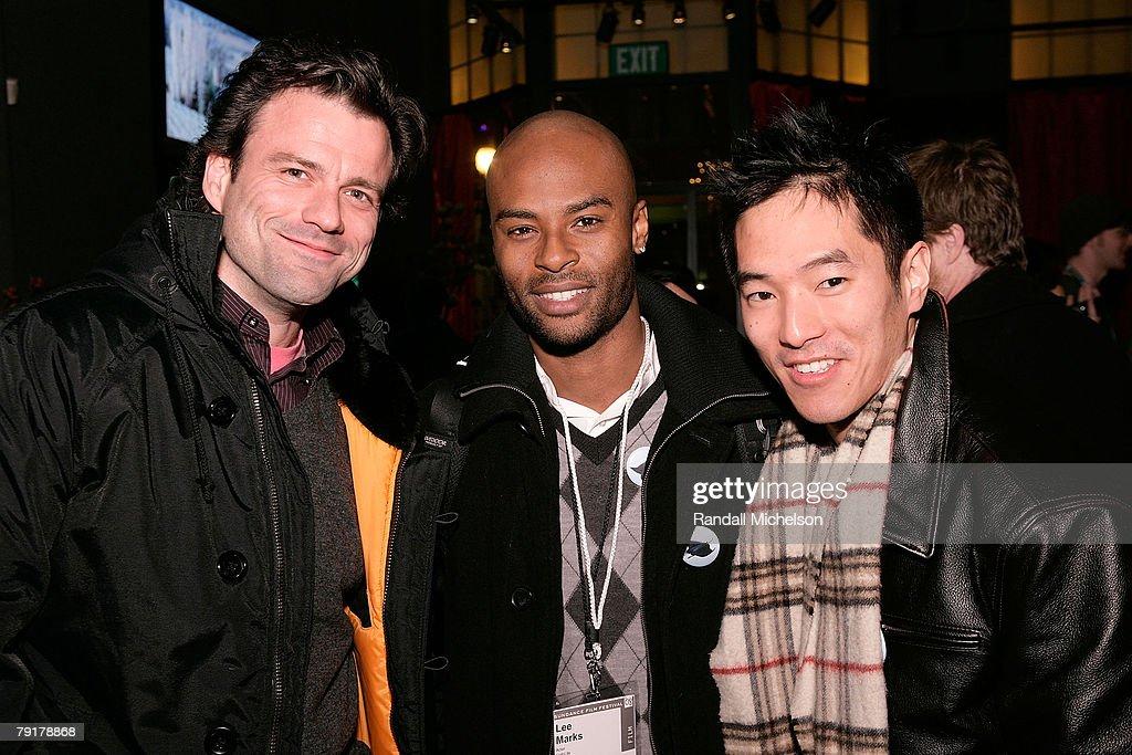 Half Life Actor Ben Redgrave, Actor Lee Marks, and Actor Leonardo Nam attends the BMI Big Crowded Room Party at the Leaf Lounge during the 2008 Sundance Film Festival on January 21, 2008 in Park City, Utah.