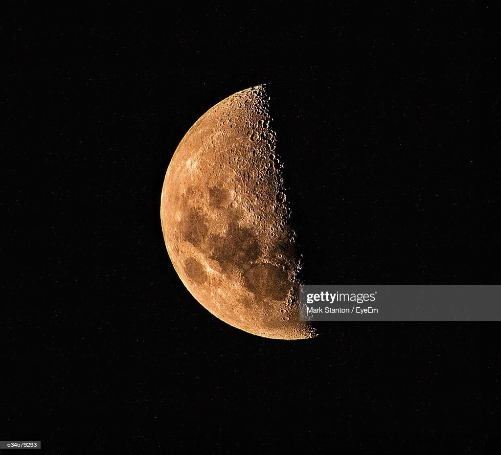 Half Moon At Night