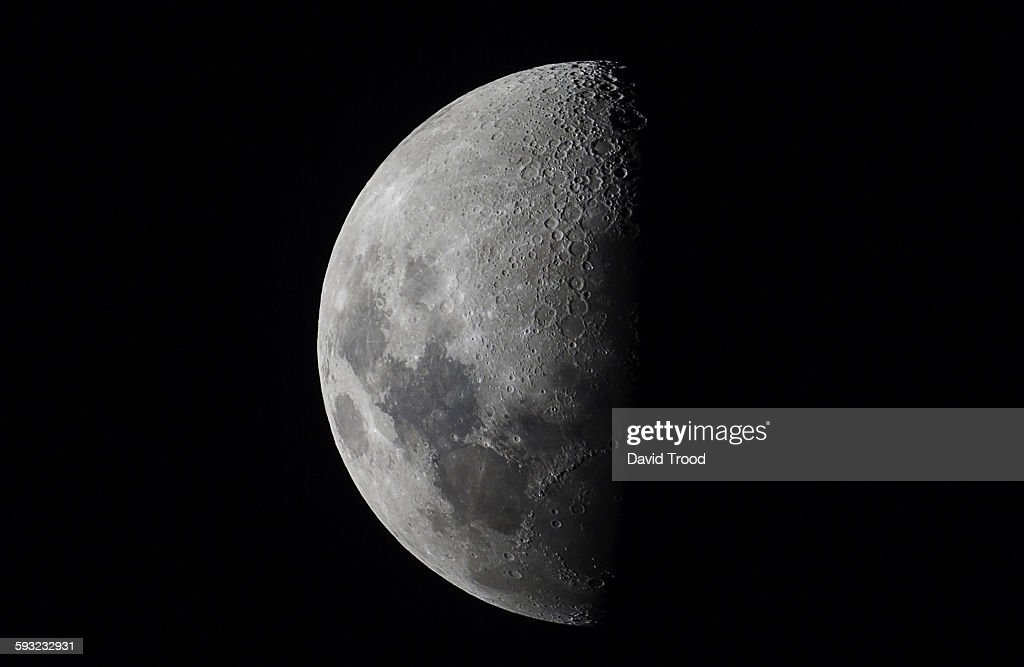 Half moon close up