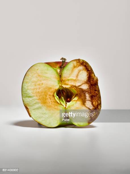 Half of the apple