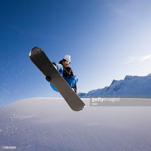 Half Pipe Snowboarding