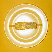 Half-Eaten Corn on the Cob