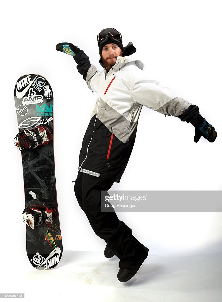 Halfpipe snowboarder <a gi-track='captionPersonalityLinkClicked' href=/galleries/search?phrase=Scotty+Lago&family=editorial&specificpeople=787593 ng-click='$event.stopPropagation()'>Scotty Lago</a> poses for a portrait during the USOC Media Summit ahead of the Sochi 2014 Winter Olympics on October 2, 2013 in Park City, Utah.