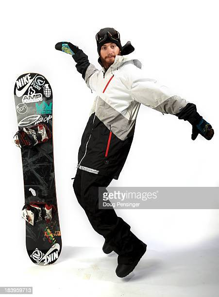 Halfpipe snowboarder Scotty Lago poses for a portrait during the USOC Media Summit ahead of the Sochi 2014 Winter Olympics on October 2 2013 in Park...