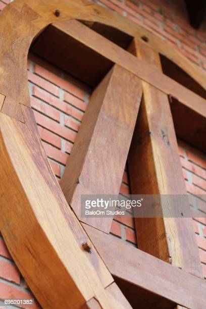 Half-timbered Heart in Pomerode - Brazil