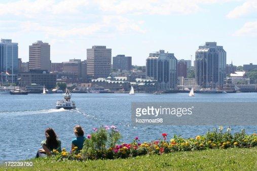 Halifax Harbor On A Summer Day