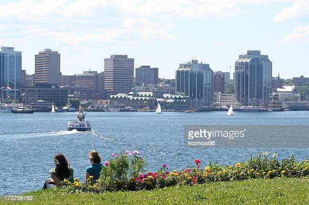 Halifax Harbor On A Summer Day