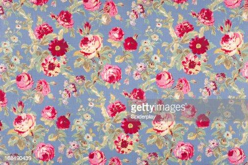Halifax Rose Antique Floral Fabric